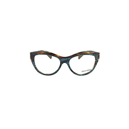 Alain Mikli 0a03063 002 Occhiale Da Vista Rosso Red Eyeglasses Sehbrille Uomo dmQsBBs