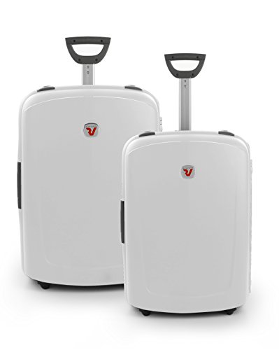New Shuttle Juego de maletas, 140 liters, Blanco (Perla)