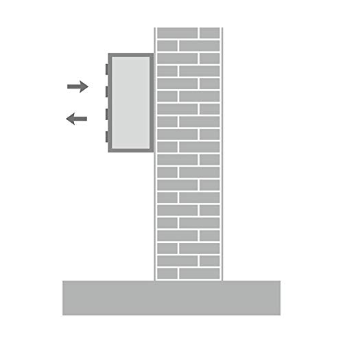 AL Briefkastensysteme 3 er Briefkastenanlage in V2A Edelstahl, Premium Briefkasten DIN A4, 3 Fach Postkasten modern Aufputz - 5