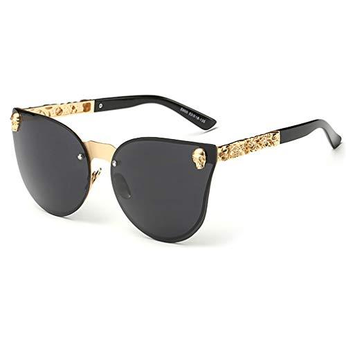 c5dd8c15468b Yuandongxing Skull Sunglasses Vintage Shades Metal Frame Gótico Moda  Mujeres Gafas de sol UV400