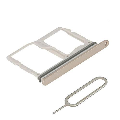 MMOBIEL SIM und SD Karte Schlitten Slot kompatibel mit LG G6-5.7 Inch (Terra Gold) inkl. SIM Pin