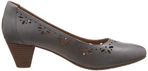Clarks clarksdenny Dazzle Damen Sandalen mit Keilabsatz Grau