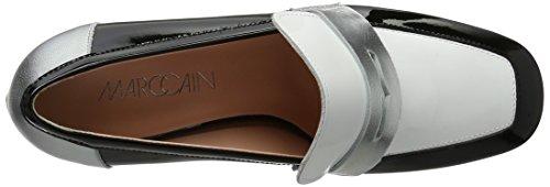 Marc Cain Damen Gb Sd.10 L35 Pumps Schwarz (Black And White)