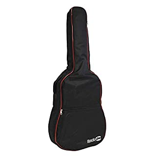 RockJam Padded Acoustic Guitar Bag with Carry Handle and Shoulder Strap