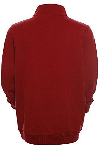 Kitaro Herren Sweatshirt Sweater Troyer -Caribbean Sea Race Series- Rot