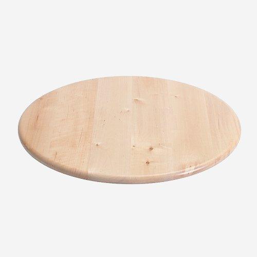 Ikea SNUDDA Drehplatte, Massivholz Birke, 39 cm, Holz, Braun, -