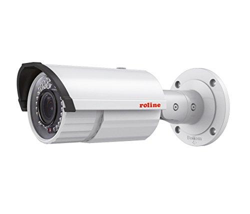Price comparison product image Roline 21197317 Network Camera (5MP,  IR LED,  PoE,  2.8 – 12 mm – White