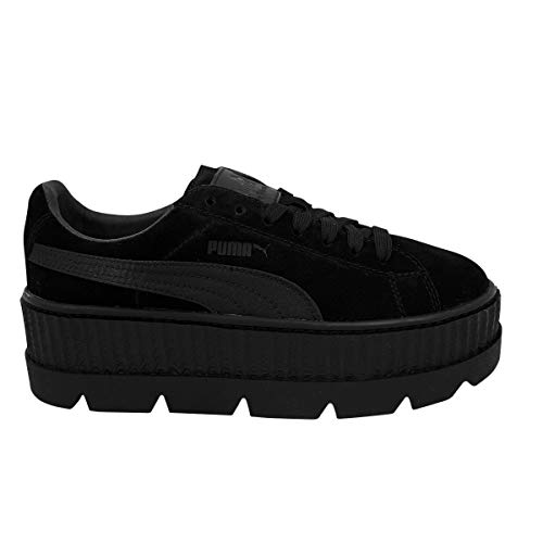 f41ca2ad3b Puma x Fenty Cleated Creeper Suede Black by Rihanna - 41