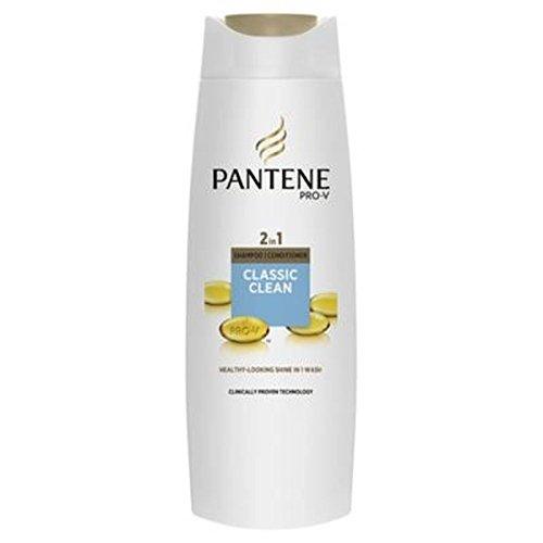PanteneClassico Pulito Shampoo 2-In-1 E Balsamo 400ml (Confezione da 2)