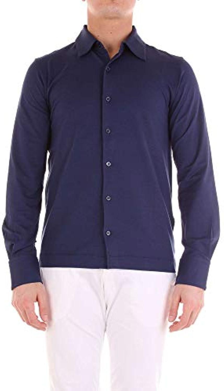 CRUCIANI Camicia Parent Uomo CU211690146 Cotone Blu Parent Camicia 6c30e8 56d8454a568