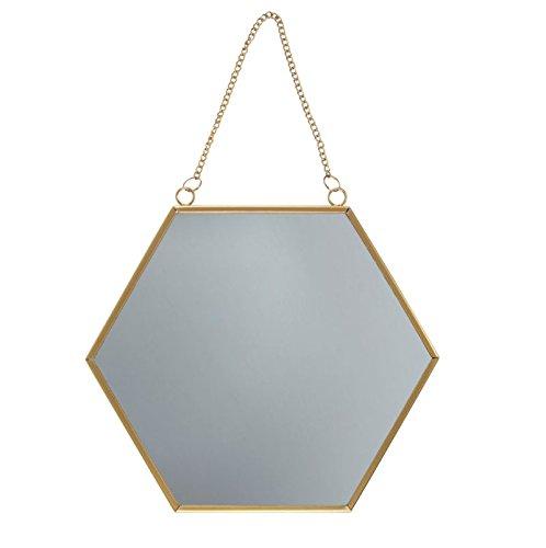 Sass & Belle Touch Of Gold Hexagon Mirror [Importación