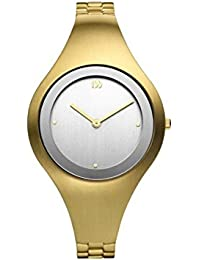 bd68dc6f5d7 Danish Design IV05Q977 Gold Tone Stainless Steel Silver Dial Women s Watch
