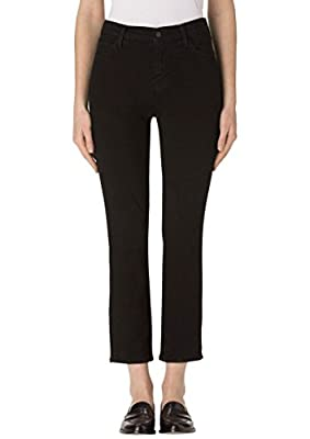 J Brand - Ruby High Rise Crop Jeans - Shadow Black