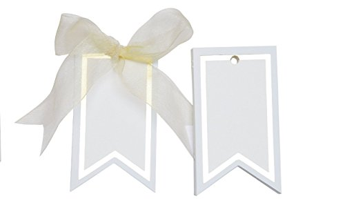 Gilded Border Gift Tags (blue)