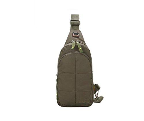 Herren Taschen Umhängetasche Umhängetasche Outdoor Casual Fashion Wild Einfache Wasserdichte Arbeitsreise Green