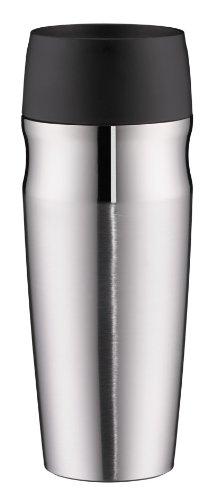 alfi 5617.205.035 Coffee To Go Trinkbecher isoMug, Edelstahl mattiert 0,35 l, 4 Stunden heiß, 8 Stunden kalt, BPA-Free, 360° Trinken (Edelstahl Isolier-becher)