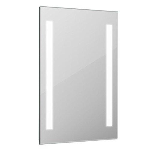 ENKI 500 x 700 mm LED Kosmetikspiegel Badezimmerspiegel Wand COCO