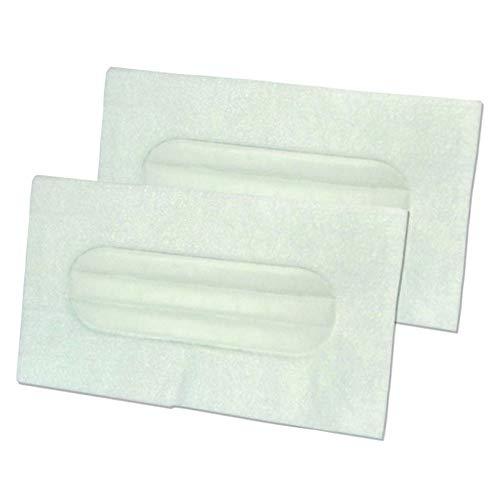 Z100-serie (2x Filter Ausblasfilter geeignet für LUX Electrolux Z 100, Z100, Z 320, Z320, Z 325, Z325, D 711, D711)