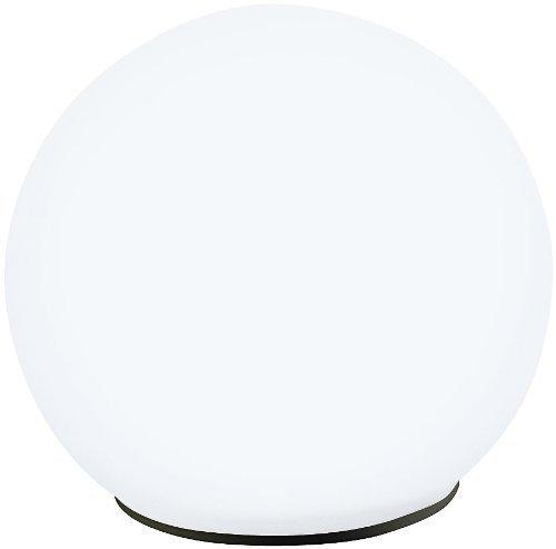 Lunartec lampe solaire en forme de boule avec LED blanc chaud et contrôle crépuscule