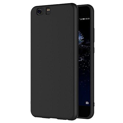 Funda Xiaomi Mi5, AICEK Negro Silicona Fundas para Xiaomi Mi 5 Carcasa Negro Silicona Funda Case