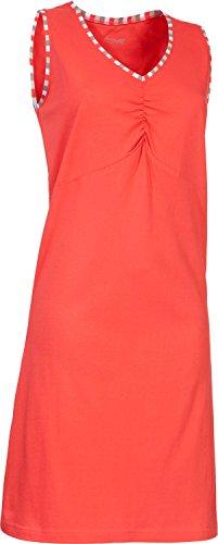 laritaM Nachthemd Single-Jersey Koralle