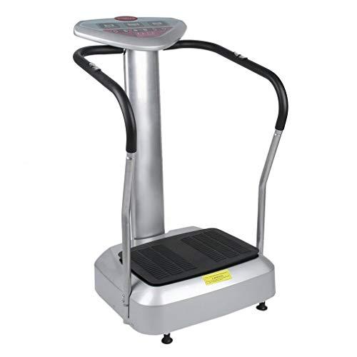 "Holarose Vibrationsplatte Vitality Fit Vibration 2.0\"" Vibraplate mit BMI Messung inkl - effektiver Vibrationstrainer - 4 Programme - 2 Fitnessbänder - Steuerpult mit LED Anzeige, Balancetraining"