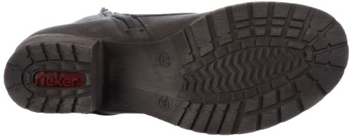 Rieker - 92511, Stivali Donna Grigio (Cenere)