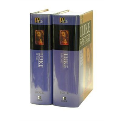 [(Luke: 2 Volumes)] [ By (author) Darrell L. Bock ] [July, 1996]