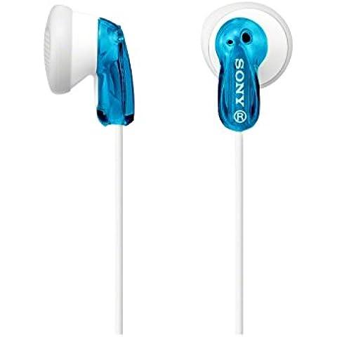 Sony MDRE9LPL - Auriculares de botón, blanco y azul