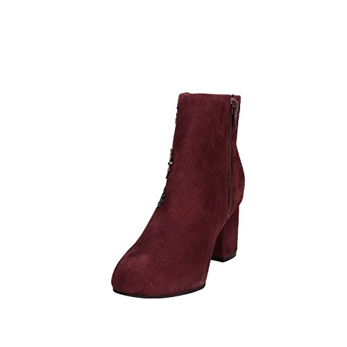 Bottines Bordeaux Malvina En Daim Femme Rouge Guess dHxqwPXId