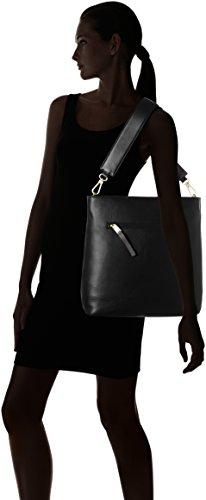 Bree Brigitte 27 Borsa a spalla pelle 31 cm Black (Nero)