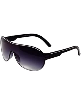 Caspar SG007 Gafas de Sol Unisex de Estilo Piloto - de Espejo o Tintadas