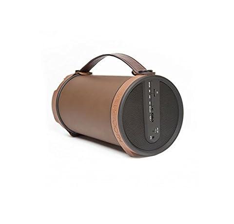 Thumbsup BOOMTUBE Haut-parleur Bluetooth 7 W Marron