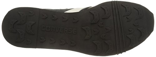 Converse, Auckland Racer Ox Gamuza Metalp Sneaker, Unisex Adulto Black / Iron