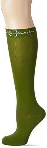 Covalliero Damen Reitstrümpfe Grado Größe Strümpfe, Grün (oliv), Gr. 40-42