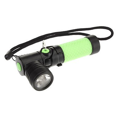 drehbar schwarz Haarwinkel Head XR-E Q5LED Taschenlampe mit Clip (200lm, 1x AA, Gelb/Grün) Q5 Clips