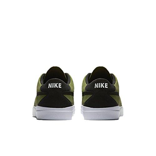Nike , Baskets mode pour homme black dark grey white volt 001 PALME vert noir blanc 300