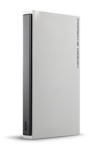 LaCie STET2000403 -  Disco Duro Externo (2000 GB,  USB Tipo C,  3.0 (3.1 Gen 1),  100 Mbit/s,  USB con Suministro de Corriente,  Plata)