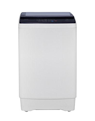 Lloyd 6.5 kg Fully-Automatic Top Loading Washing Machine (LWMT65TG, Purple and White)