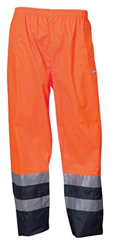 Epping - pantaloni da lavoro impermeabili ad alta visibilità da uomo hi vis hi viz - arancione m