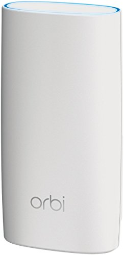 NETGEAR RBK30 and RBW30 Orbi Whole Home Mesh Wi-Fi System Upto 5,000 sq ft of Coverage 11AC 2.2 Gbps, Works with Amazon Alexa - Pack of 3