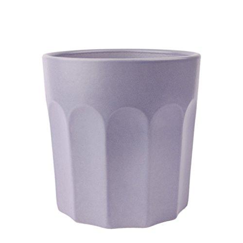 Pot de fleur plantes Pots Fleurs Vase Pot en céramique Pastel, Céramique, lilas, Ø 13 cm, H 13 cm