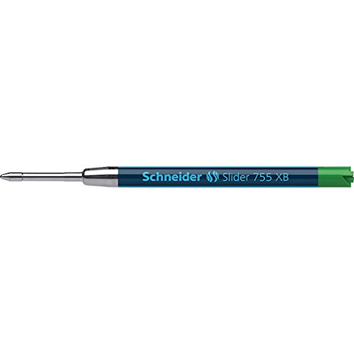 Schneider Slider 755verde a sfera media ricariche ViscoGlide Ink system-parker Style-2/PK