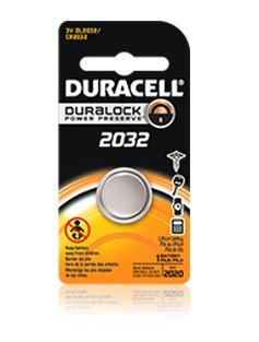 Duracell CR2032 Lithium Knopfbatterie 10 Blister