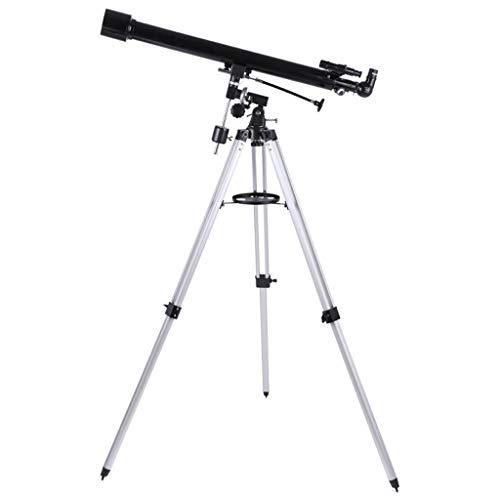 GCHOME Astronomisches Teleskop, 60EQ HD High Deep Space professionelle Teleskop Kind Erwachsene Sternenbeobachtung Teleskop
