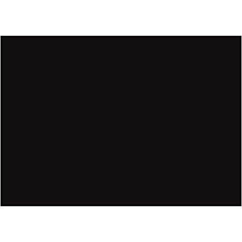 Hojas de goma EVA, A4 21x30 cm, grosor 2 mm, negro, 10hoja