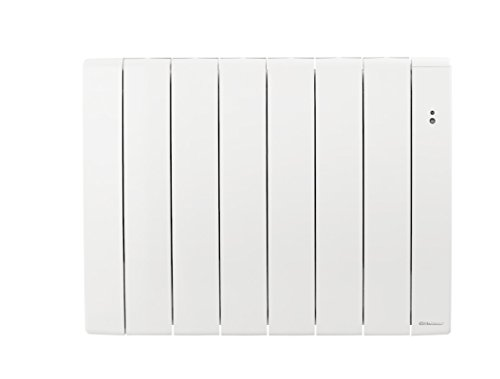 Radiateur électrique connecté à inertie Bilbao 3 blanc 1000W