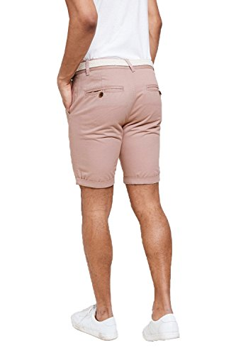 Threadbare Herren Chino Short rot rot Powder Pink