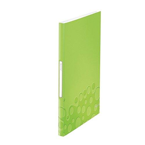 Leitz Wow Reliure Protège-Documents 40 Pochettes Couverture PP - Vert Métallisé