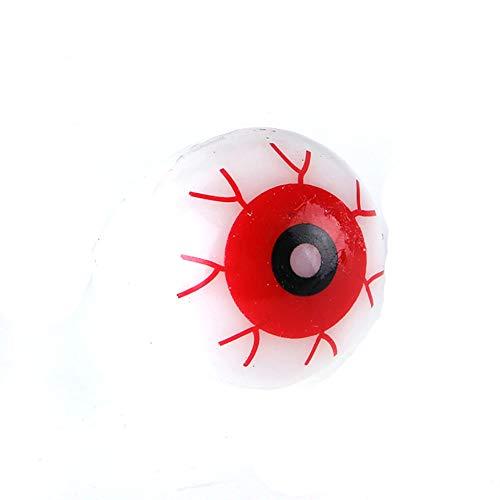 Naisicatar Halloween-Blitz-Licht-Augapfel Ring Kid-Party-Bevorzugungs-Vorratsbeutel Prop-Geschenk (1PC)